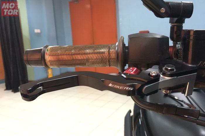 handle rem motor kembali kece dengan handle baru.