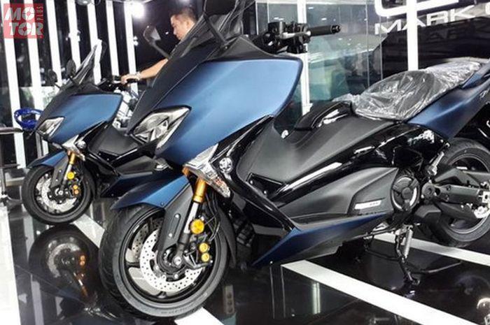 Ilustrasi Yamaha TMAX DX, kakak Yamaha NMAX dibanjiri diskon sampai Rp 20 juta dan bonus helm mahal.