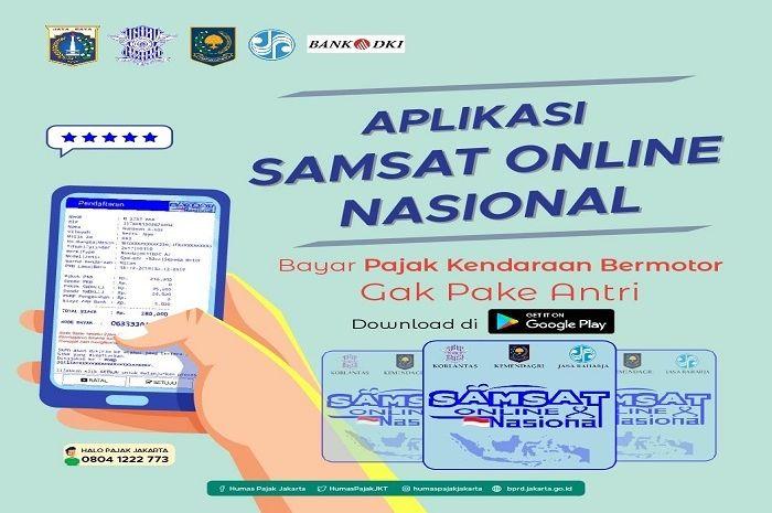 Bayar pajak STNK motor tahunan melalui Samsat Online tidak perlu lagi cap stempel tanda pelunasan.