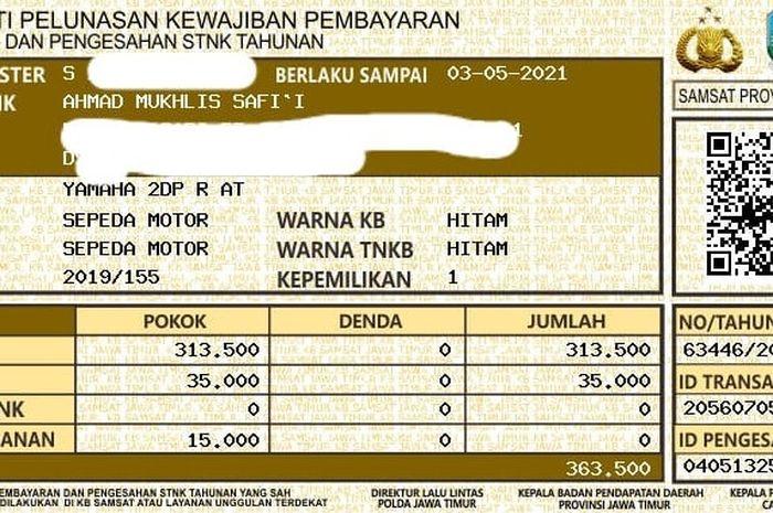 Horeeee Kabar Gembira Bayar Pajak Kendaraan dari Indomaret Tanpa ...