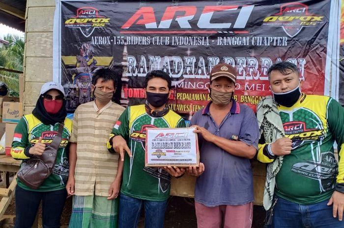 Peduli pandemi Covid-19, ARCI gelar baksos berbagi serentak seluruh chapter di Indonesia.