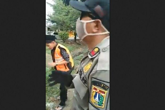 Video pelanggar PSBB di Kalideres