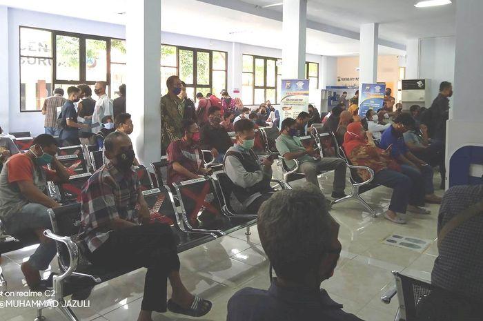 Proses perpanjang SIM di Bangil Pasuruan sebelum lebaran harus sesuai tanggal masa berlaku