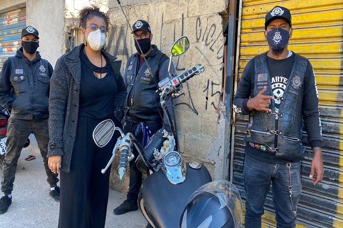 Sebuah geng motor di Brasil jadi pahlawan di tengah pandemi virus corona.