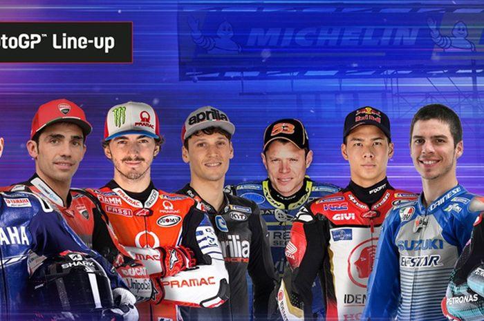 MotoGP Virtual Race V digelar Minggu besok, (31/5/2020) pukul 20:00 WIB ditayangkan secara live streaming di platform media sosial MotoGP