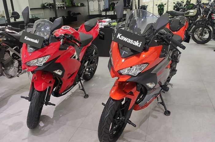 Ilustrasi Kawasaki Ninja 250. Harga motor baru Kawasaki ini turun sampai Rp 5 jutaan.