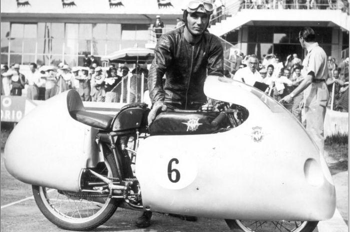 Legenda balap motor Grand Prix tahun 1950-an, Carlo Ubbiali meninggal dunia.