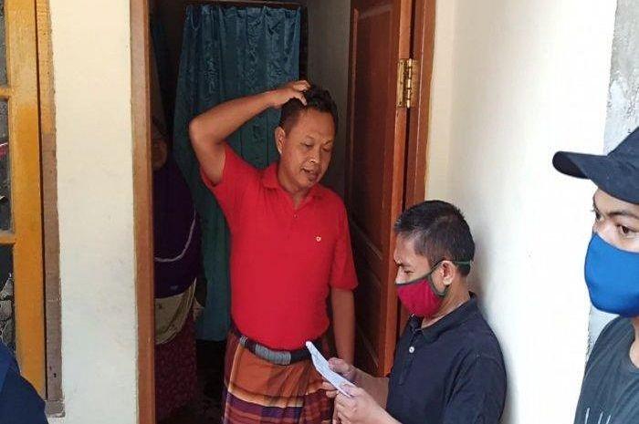 Pendataan warga setelah mudik, ada empat keluarga pemudik yang wajib karantina mandiri.