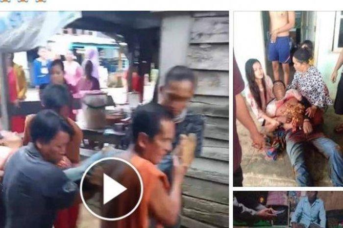 Gara-gara tidak senang geber motor terlalu kencang, seorang pemotor di Bangka Selatan, tewas setelah ditikam pisau.
