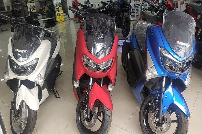 Ilustrasi motor baru. Yamaha NMAX terbaru dan motor baru lainnya kena diskon sampai jutaan rupiah.