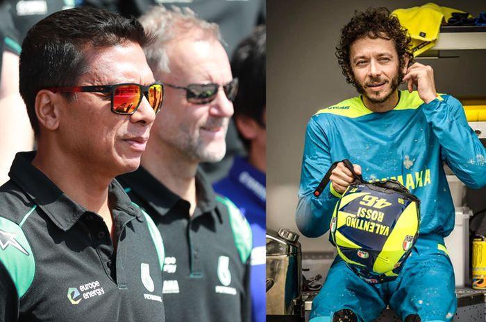 Razlan Razali ungkapkan kontrak Valentino Rossi bersama Petronas Yamaha SRT paling lambat diputuskan bulan Juli nanti