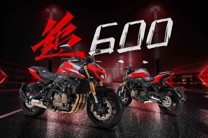 Motor baru pesaing Kawasaki Z650, Benelli TNT 600 resmi meluncur.