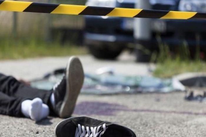 Ilustrasi kecelakaan, Pengendara motor tewas akibta kepala pecah