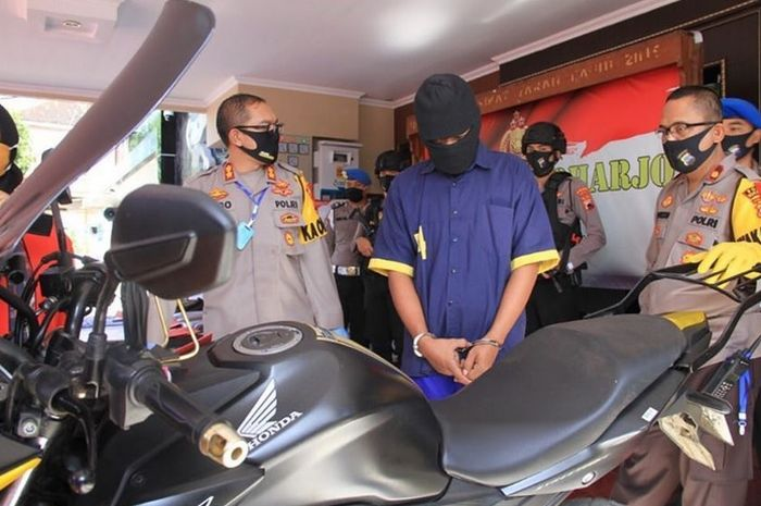 Tersangka pembuat laporan palsu ke polisi