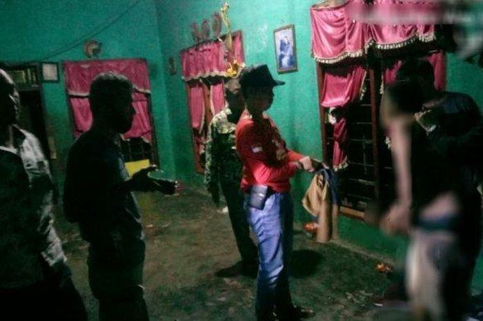 Anggota Unit Reskrim Polsek Baradatu berhasil mengamankan pelaku pembegalan yang terjadi di Desa Sri Mulyo, Kampung Gunung Katun, Kecamatan Baradatu, Kabupaten Way Kanan, setahun silam.