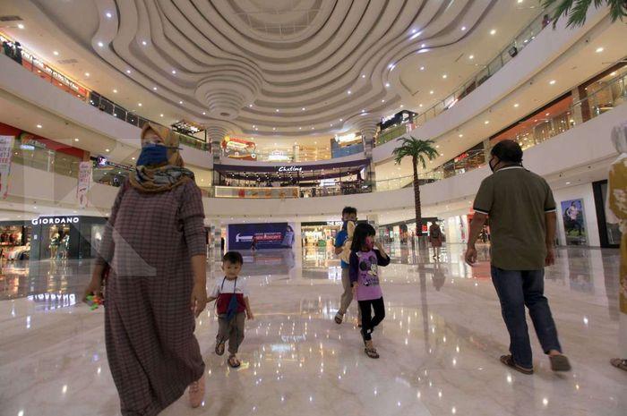 Ilustrasi Mal. 80 pusat perbelanjaan atau mal di DKI Jakarta dibuka lagi.