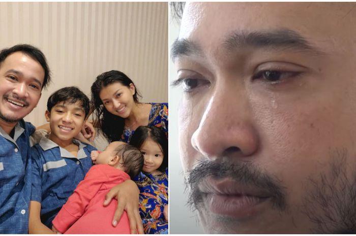 Ruben Onsu tengah dirundung masalah, curhat dengan anaknya Betrand Peto.