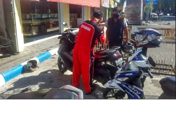 Yamaha Madiun-Kediri menawarkan solusi perawatan motor konsumen dengan layanan Servis Kunjung Yamaha (SKY)