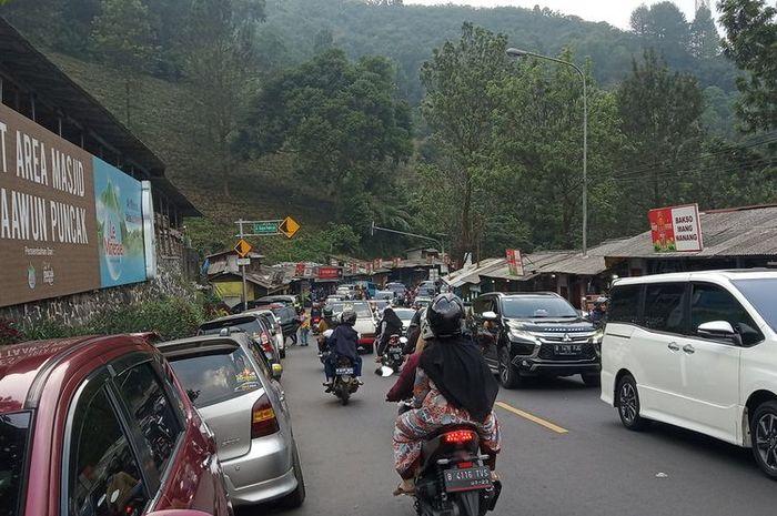 Ilustrasi lokasi wisata Puncak Bogor