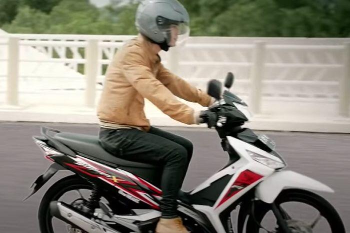 Ilustrasi Honda Supra X 125.