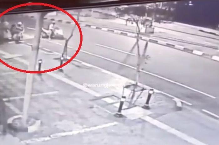 Pelaku begal sepeda malam hari yang viral di Panglima Polim, Jakarta Selatan berhasil diciduk Polisi.