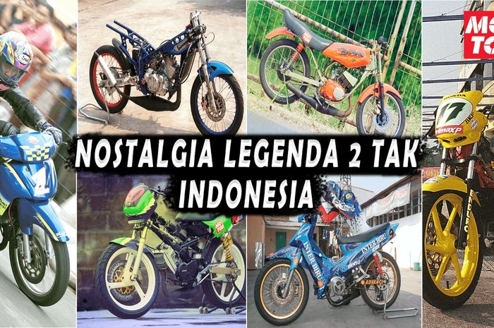 Video motor balap 2 tak legenda di Indonesia