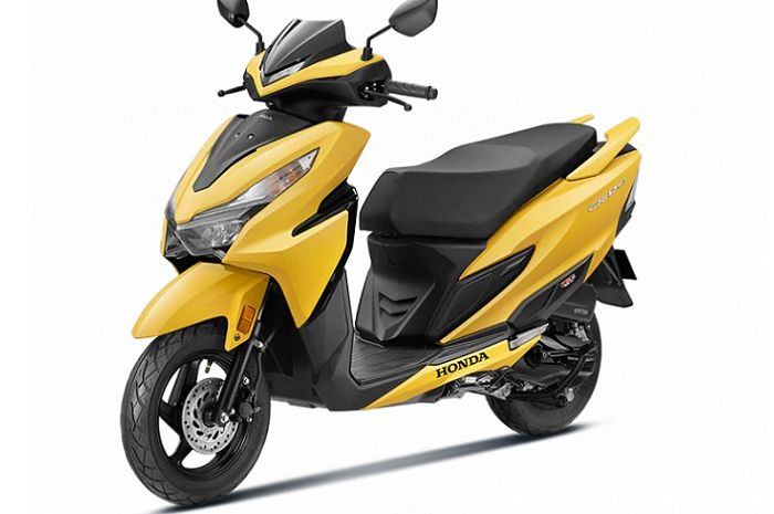Honda Vario Paket Hemat atau Honda Grazia 125 dibuat oleh Honda 2 Wheelers India jadi lebih murah