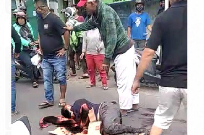 Pemotor merinding, penyerangan dan pembacokan sadis anak buah Nus Kei.