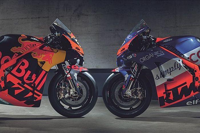 Ditinggal sponsor Red Bull, nama baru tim Tech3 KTM di MotoGP menjadi Tech3 KTM Factory Racing.
