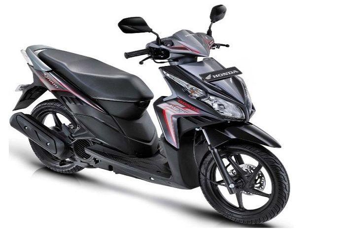 Honda Vario Techno 110, tipe Vario langka di Indonesia.