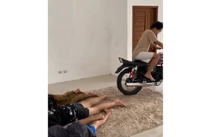 Video cara membangunkan teman pakai Yamaha RX-King