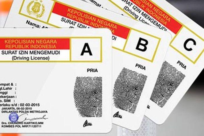 Ilustrasi SIM Indonesia