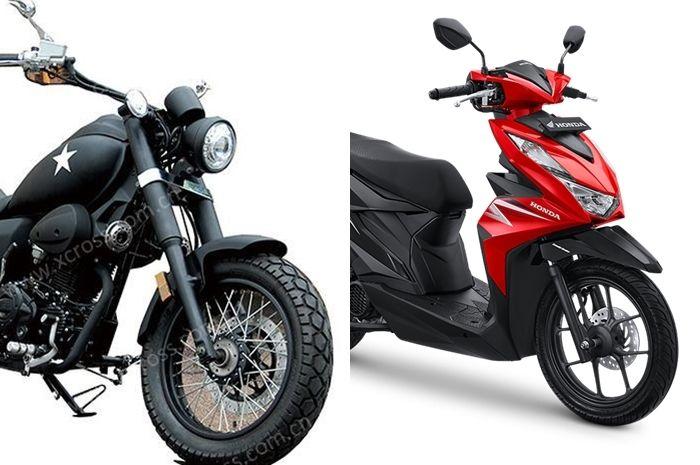Harga kembaran Harley-Davidson dijual cuma Rp 9 jutaan, mending beli motor baru ini atau Honda BeAT