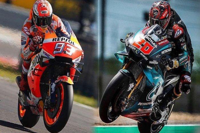 Ilustrasi. Ada yang yakin pembalap MotoGP ini bisa kalahkan Marc Marquez, siapakah dia?