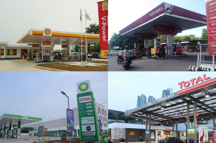 Ilustrasi SPBU. Segini harga bensin Pertamina dan swasta RON 90 setelah Dirut Pertamina rapat dengan DPR RI.