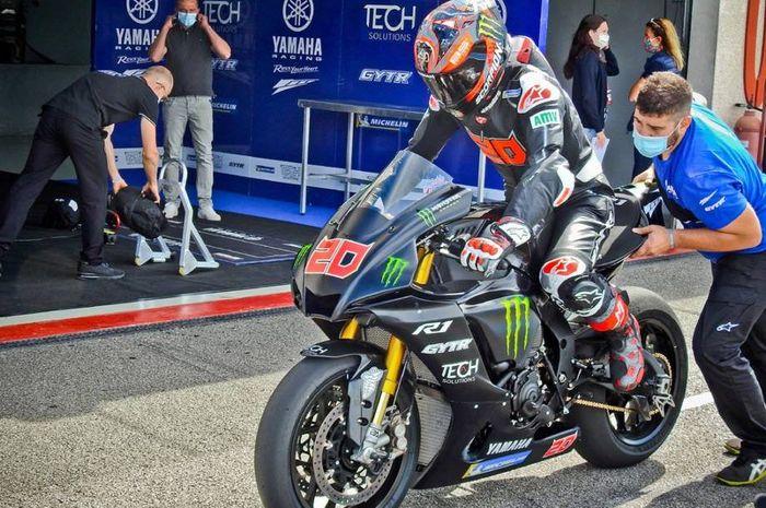 Pembalap tim Petronas Yamaha SRT, Fabio Quartararo akan dikenai sanksi di MotoGP Jerez 2020 karena melanggar beberapa aturan.