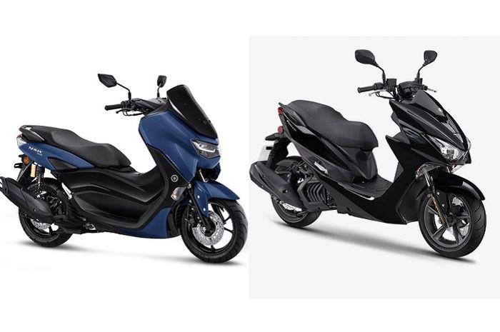 Yamaha rilis motor matic baru Edisi ulang tahun mesin dan roda mirip Yamaha All New NMAX