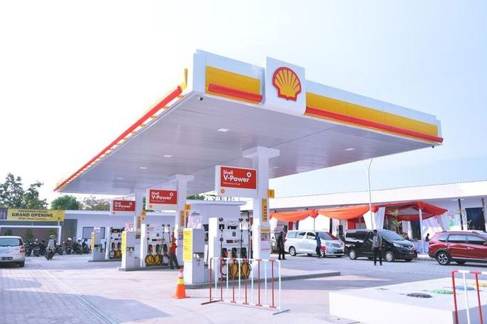 SPBU Shell bagi-bagi bensin gratis