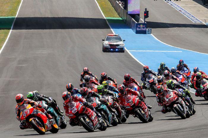 Ilustrasi. MotoGP Spanyol jadi ronde pembuka jadwal MotoGP 2020 yang diadakan 19 Juli 2020 mendatang