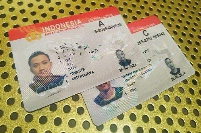 Ilustrasi SIM. Gak usah bingung, perpanjang SIM online gampang kok, biayanya cuma segini.