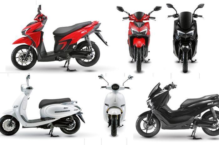 Motor matic listrik ala Yamaha NMAX dan Honda Vario