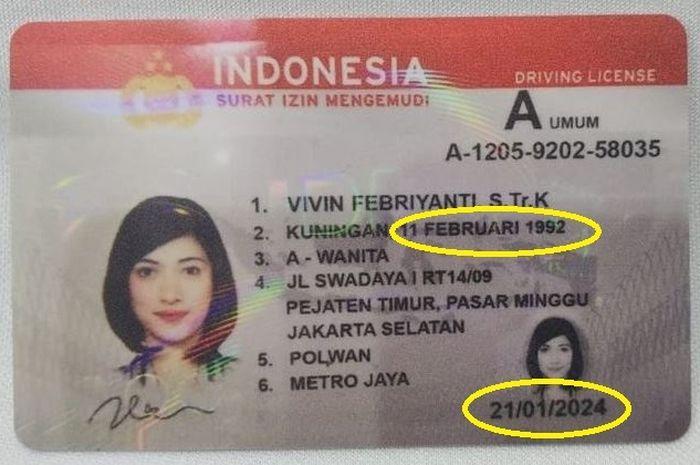 Masa berlaku SIM bukan lagi tanggal lahir tapi ditetakan berdasar SIM itu dibuat. Kapan mulai berlaku aturan ini?