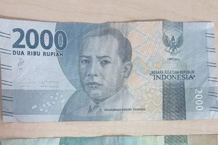 Ilustrasi uang Rp 2 ribuan