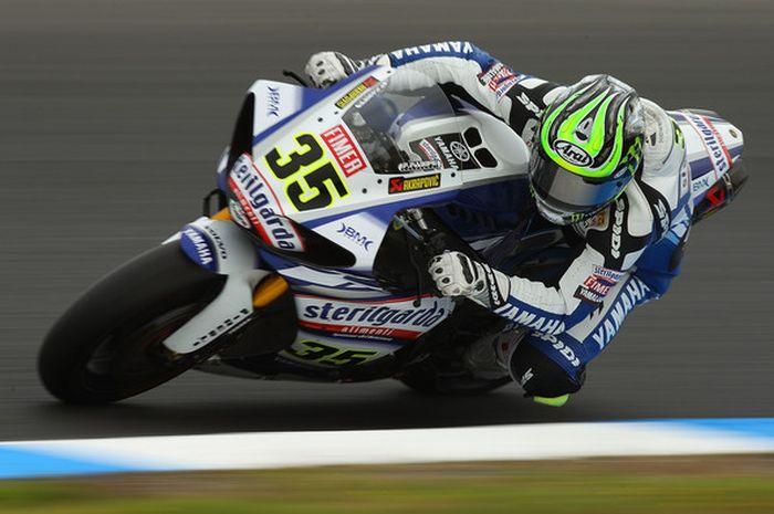 Cal Crutchlow pernah turun di World Superbike pada 2010 bersama Yamaha, usai merebut gelar juara World Supersport pada 2009