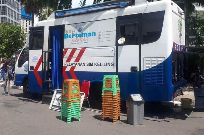 Jadwal SIM keliling Rabu (13/1/2021) di Jakarta, siapin duit lebih bro.
