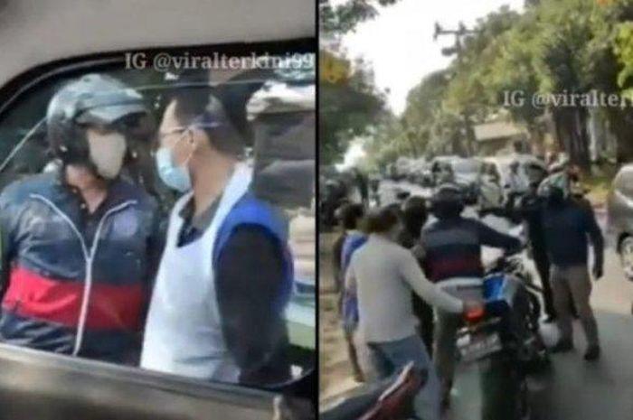 Pembelaan Pemotor yang Halangi Ambulans di Depok, Ternyata Begini yang Sebenarnya Terjadi...