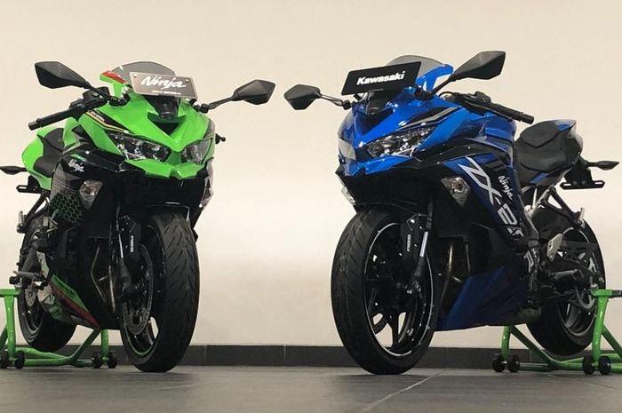 Kawasaki Ninja ZX-25R atau Ninja 250 4 silinder dibandrol mencapai 100 juta