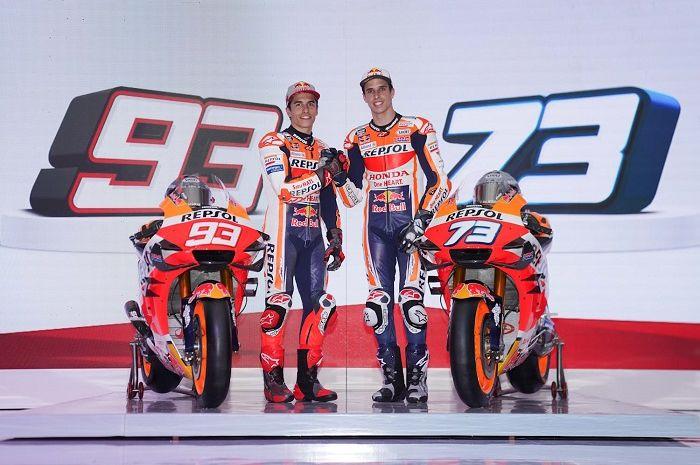 Ilustrasi. Jelang MotoGP 2020, ada kejutan dari Marc Marquez dan Alex Marquez, ternyata...