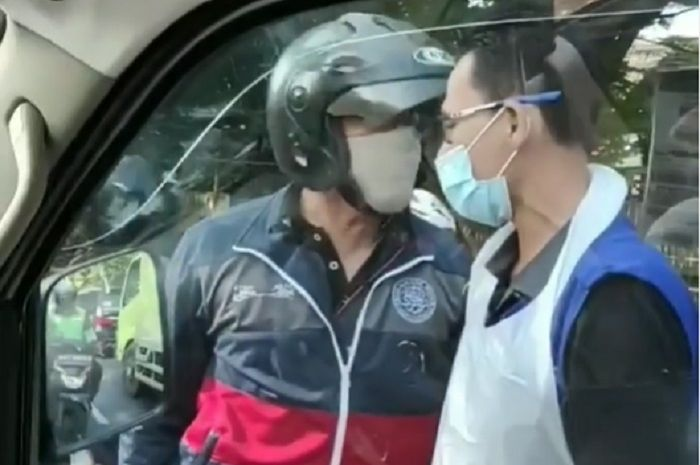 Makin panjang, pemotor yang ngamuk dan ajak ribut sopir ambulans berlanjut di Polres Depok, polisi langsung ambil tindakan.