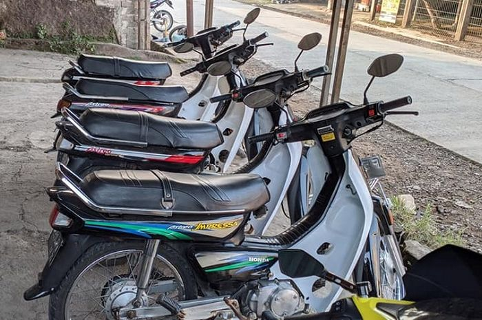 Penggemar Honda Astrea Grand dijamin ngiler, motor bebek lawas kondisi mulus banyak dijual harga di bawah Rp 5 jutaan.